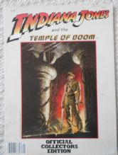 Indiana Jones and the Temple of Doom, Collectors book, Harrison Ford, '84